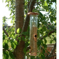 Seed Feeder Large Copper