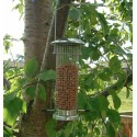 Nut Feeder Small Silver